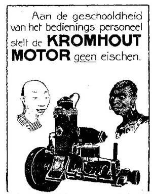 kromhout reclame