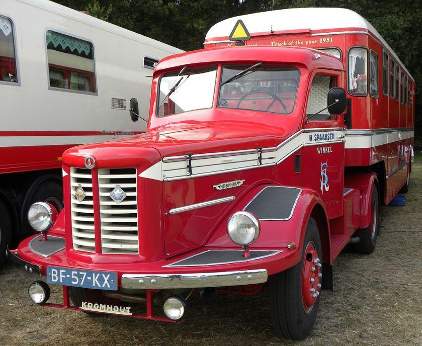Kromhout V6T truck