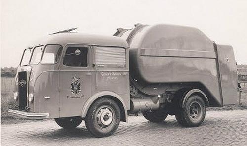 Kromhout Vuilniswagen