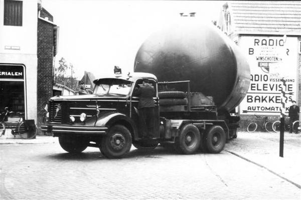 Kromhout zwaar transport - Lommerts