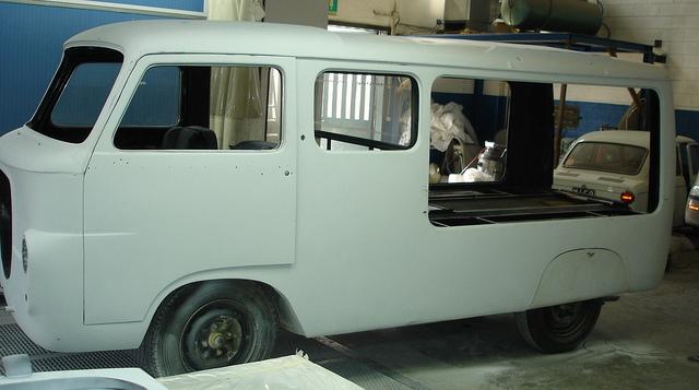 Lancia Funebre restoration