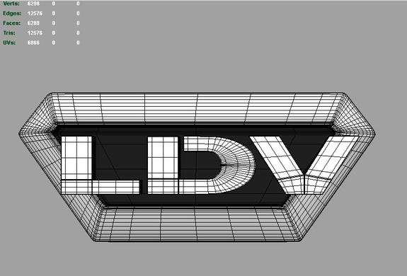 LDV 3d Logo 3D Model