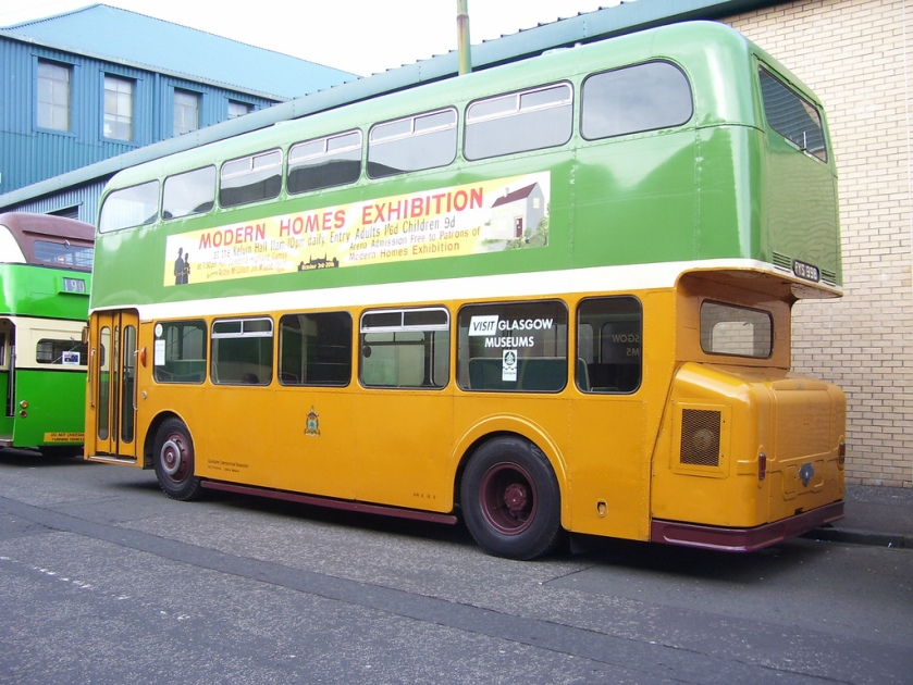 leyland atlantean LA1 FYS998 the famous