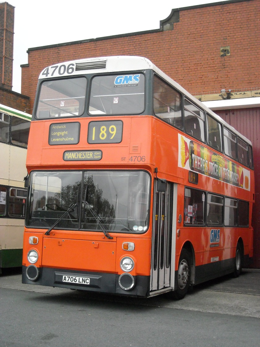 Leyland Atlantean Manchester Transport Museum bus A706