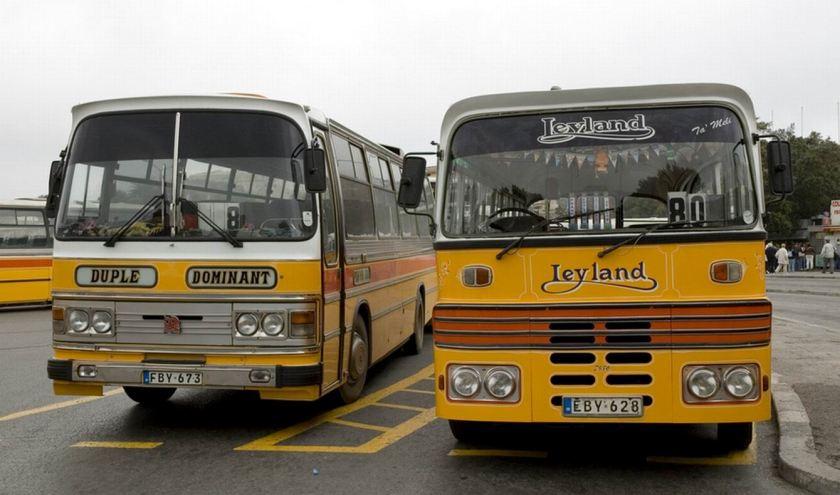 Leyland Duple Domnant Malta + Leyland