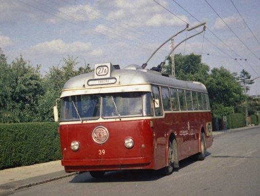 Leyland - SMH trolleybus NESA NR 39