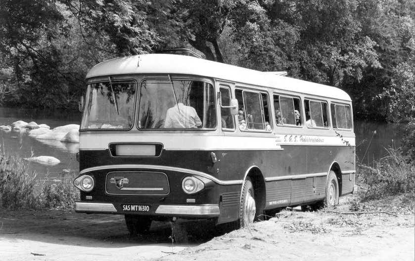 Leyland Tiger Coach in the Kruger National Park