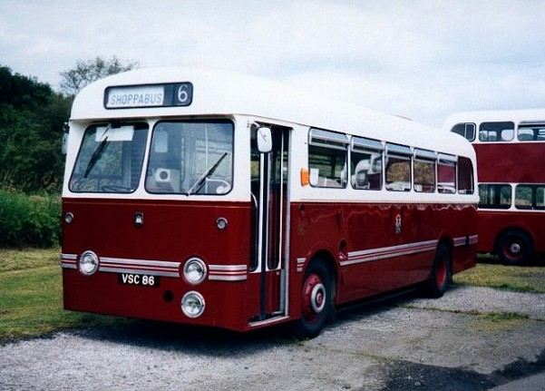 LEYLAND TIGER CUB - EDINBURGH CORPORATION