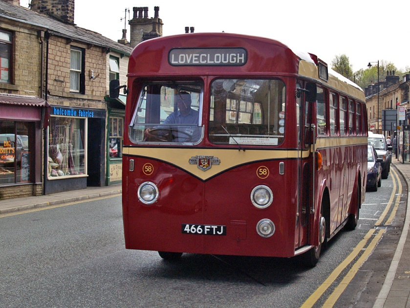 Leyland Tiger Cub Rawtenstall Corporation Transport