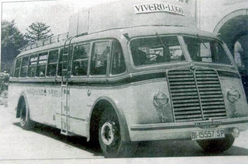 Leyland Vivero lugo bus