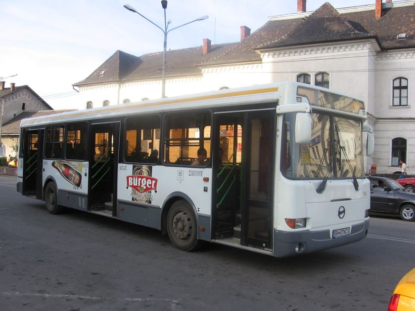 LiAZ-5256 bus (second generation) in Oradea (Romania)