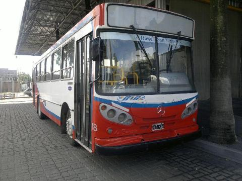 Mercedes Benz BUSES OF 1417 CARROCERIA FAVORITA 2005