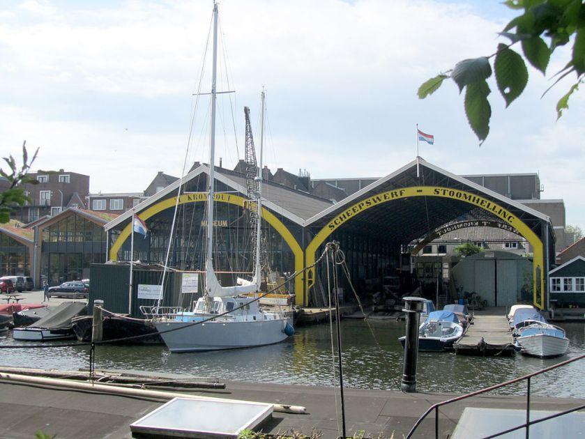 Museumwerf Kromhout Amsterdam