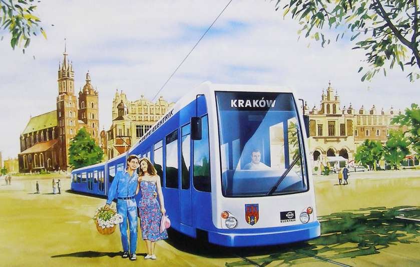 Praque Light Rail Kiepe Elektric