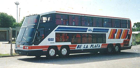 Scania 112 with body by Imeca Argentina