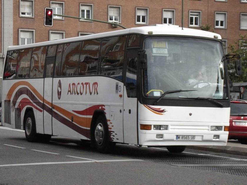 Scania 113 Camo Minerva