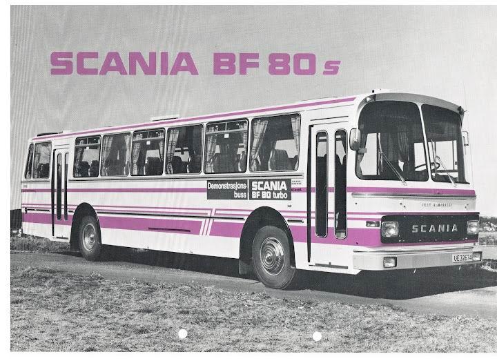 SCANIA BF80s+Vest