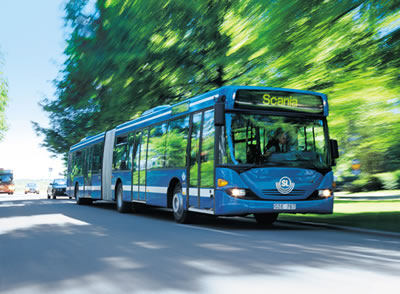 Scania Bio Ethanolbus Stockholm