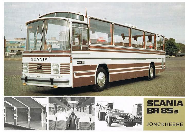 SCANIA BR85s+Jonckheere