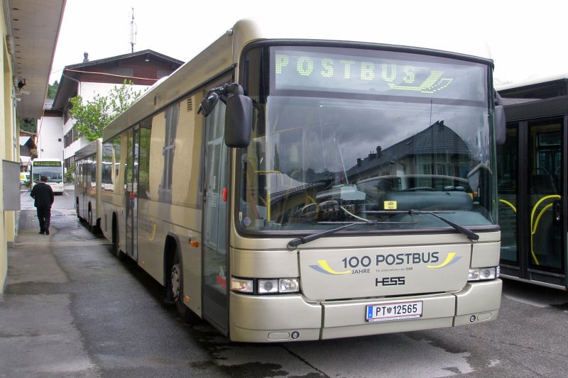 Scania-Hess mit anhanger, PT 12565 postbus-12949