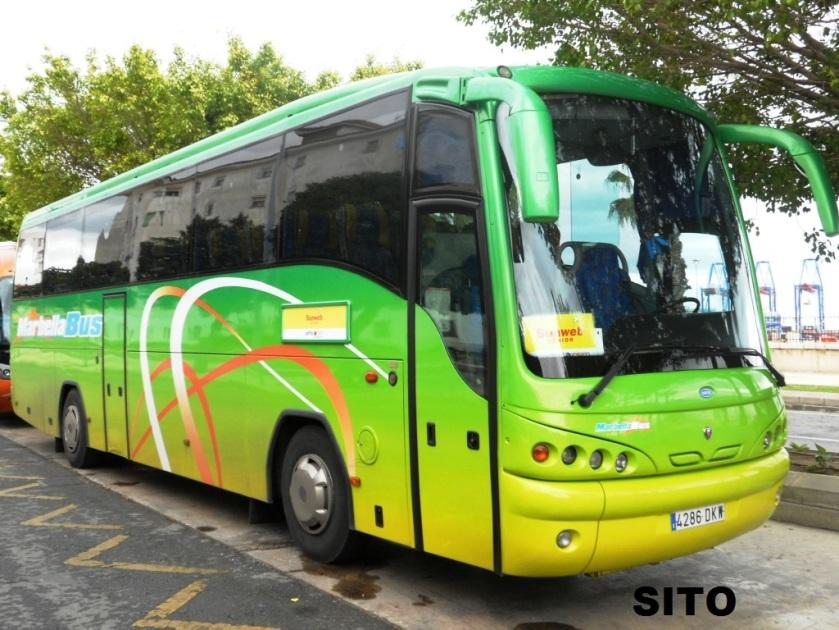 Scania K124 Andecar Viana S Marbella Bus