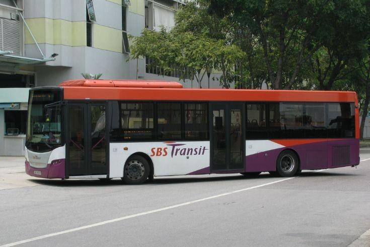 Scania K230UB (SBS 8153) SBS Transit Singapore