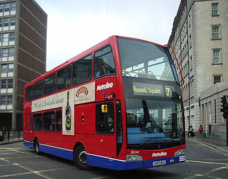 Scania N-series Metroline SEL762 LK07 BCZ