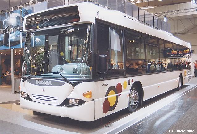 Scania-OmniLink-Linienbus-weiss-Ausstellungsstueck