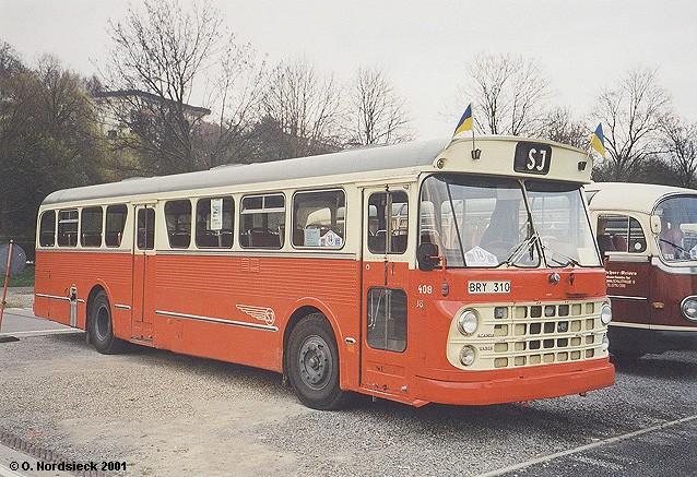 Scania-Vabis BF 76 Bahnbus SJ (Schwedische Staatsbahnen)