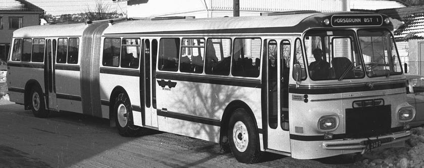 Scania Vabis GELEDEBUS T Knudsen 1102ab