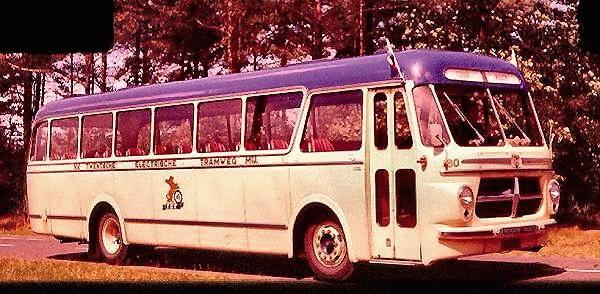 Scania-Vabis nr. 60 met carrosserie van Den oudsten. In 1968 gesloopt.
