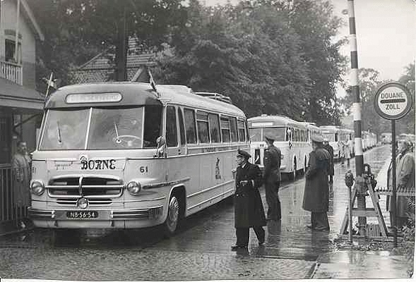Scania-Vabis nr 61 Met carrosserie van Hondebrink oorspr. van H