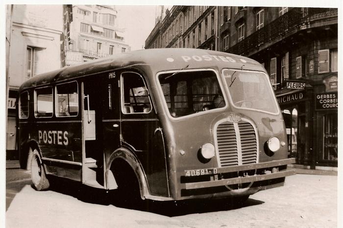 Scania Vabis Postes Van