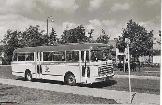 Scania-Vabis Stadsbus 38 met carrosserie van Den Oudsten. 29 zitplaatsen. kenteken RB-12-32