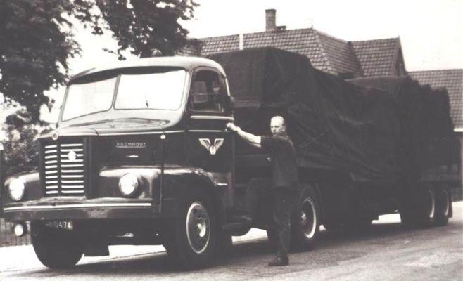 Trucks Kromhout 5 cylinder