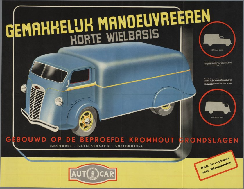 Trucks Kromhout Amsterdam