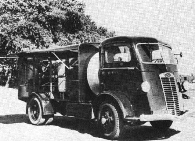 Trucks Kromhout-Autocar, 1938