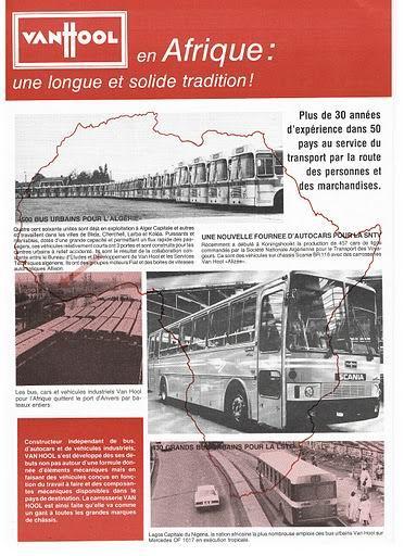 VAN HOOL 'Afrique' Scania