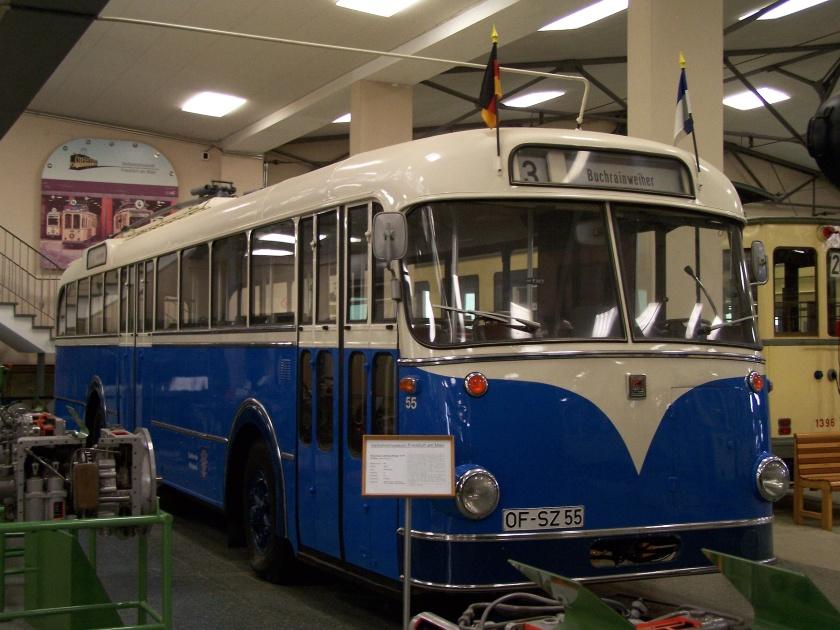 Verkehrsmuseum BüssingLudewigKiepe O-Bus 01052009