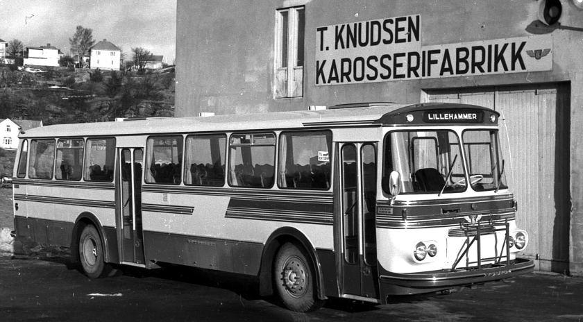 Volvo Bus T Knudsen Karosserifabrik 1163a