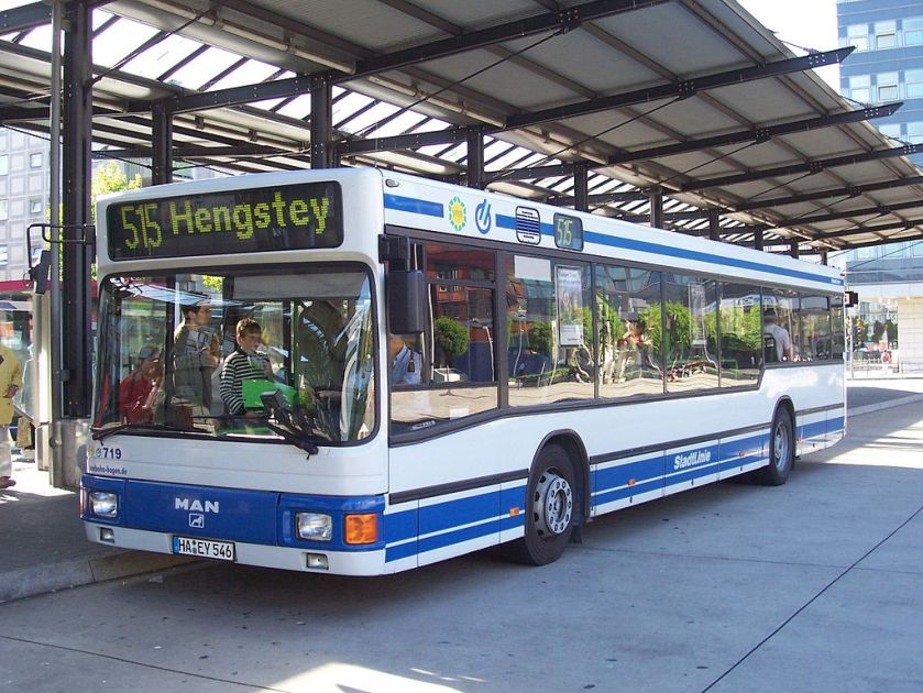 115 MAN NL 262 in Hagen
