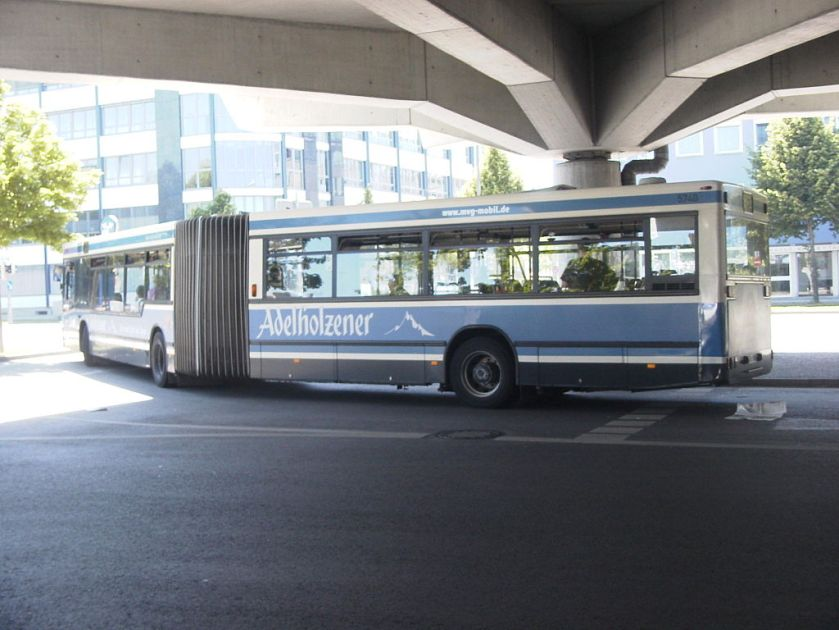 118 MAN NG 272(2) (A11) in München (Heckansicht)