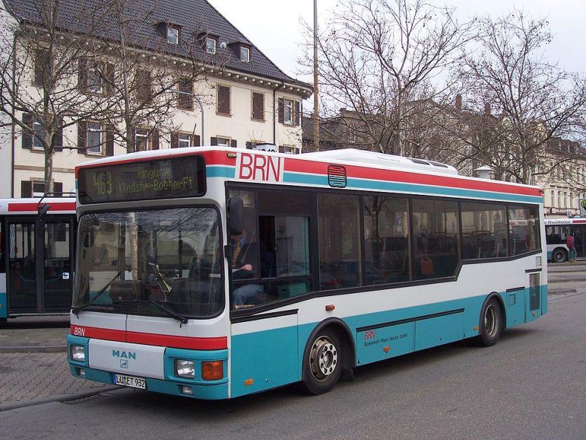 119 MAN NM 222 bei der BRN in Frankenthal