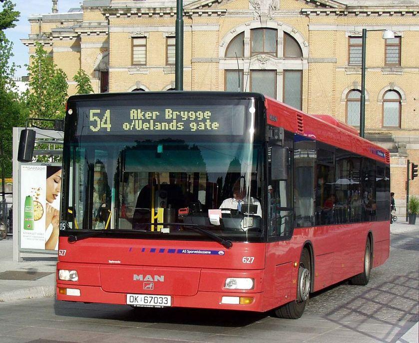 131 MAN NL 263 in Oslo
