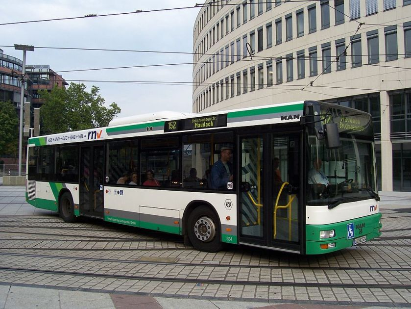 132 MAN NL 263 (A21) in Ludwigshafen