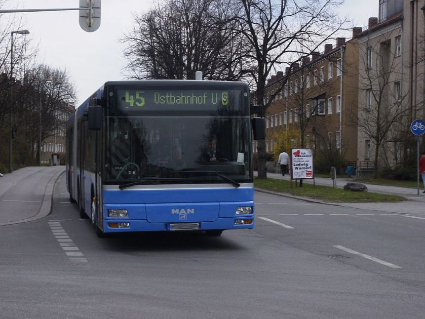 133 MAN NG 263 (A23) in München
