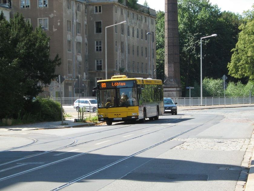 134 MAN NL 283 Version 2003 in Dresden