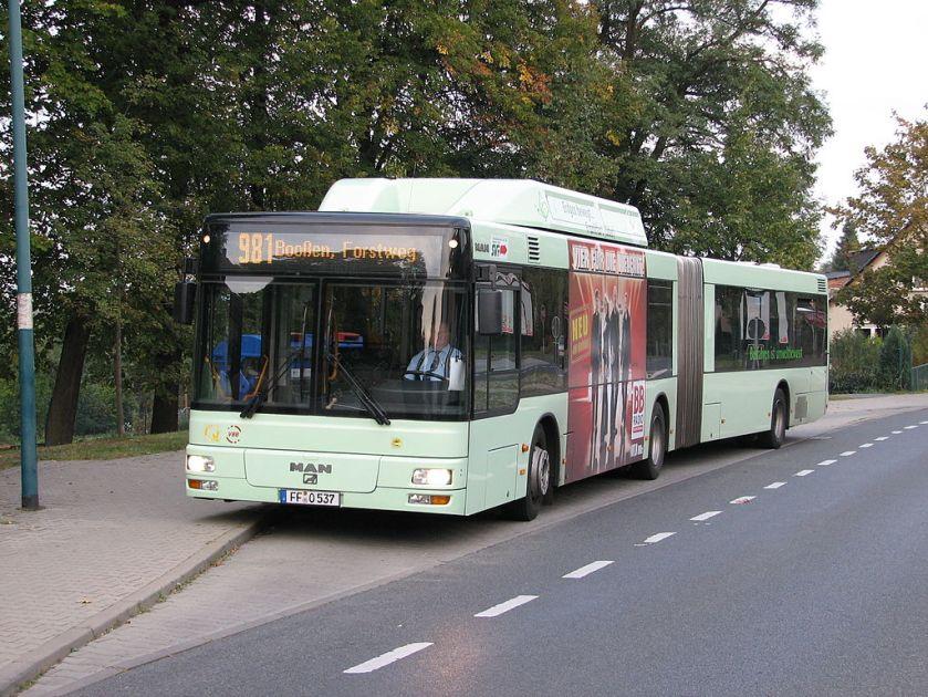 135 MAN NG 313 CNG in Frankfurt (Oder)