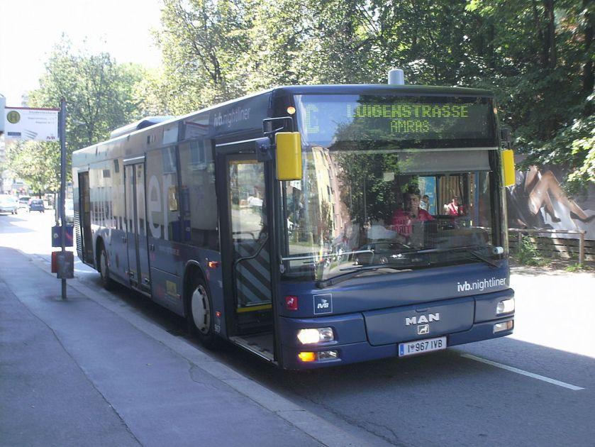 138 MAN A21 der Innsbrucker Verkehrsbetriebe