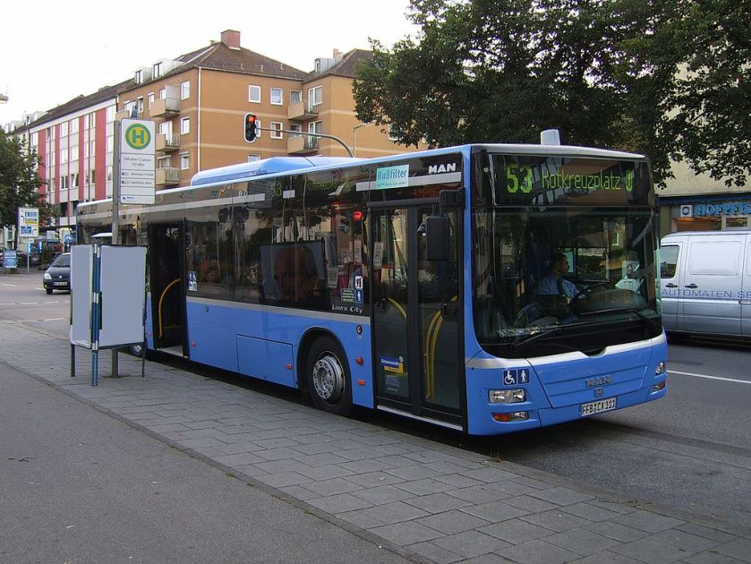 141 MAN NL 223 (A21) Lion's City in München